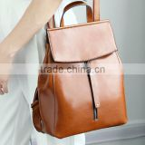 zm35793a fashion vintage women bag girls leather backpack