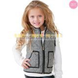 STOCKED affordably tweed children vest