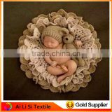 Multiple Color Newborn Rayon Wrap Baby Stretch Knit Wrap Baby Infant Knitted Crochet Costume Photo Photography Prop