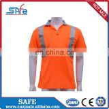 High Visibility work safety POLO shirts
