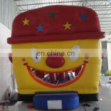Happy clown theme hot sale commercial inflatable,jumping castle customized with best quality,changeable themes