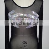 Dance leotard Sexy dance costume Belly dance leotard beautiful belly dance tops S-3050#