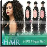 Virgin European Deep Wave Human Hair Extension