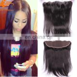 Most Popular Items Straight Brazilian 13X4 Bleached Knots Silk Top Lace Frontal human lace closure