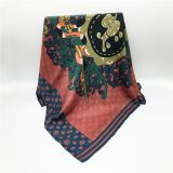 Fashion DesignsTop End Digital Print Custom Woven Silk Scarf