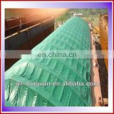 high tensile strength 180gsm pe tarpaulin for stadium roofs or side curtains