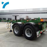 Skeleton 2axles 20FT Container Chassis Container Semi Truck Trailer