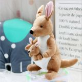 Plush Toy Mother Kangaroo Manufacture With Child Can Be Taken Out