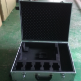 Aluminium Tool Case Diomand & Plain Surface Road Case Tool Box