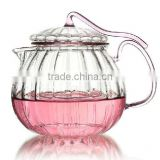 400ml Glass Teapot,beautiful desigh