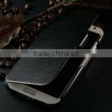 Smart leather cover for samsung galaxy s4 i9500 , back case for samsung i9500 , book style leather case for galaxy s4
