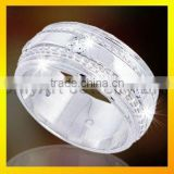 popular 925 silver cz rings jewellery for lady paypal acceptable
