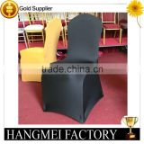 factory price beautiful black spandex chair cover                                                                         Quality Choice