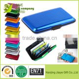Credit Card Case Holder Metal Business Card Holder With 6 Pockets