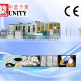 Double screw t die head extrusion Ps Carryout Container making machine