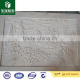 white sandstone art carving patterns, carved stone wall art