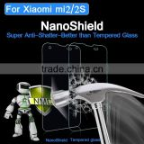 6-7H Hardness Ultra Clear Nano Anti Shock Screen Protector for Xiaomi Mi2 Nano Invisible Shield