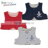 Japanese wholesale products high quality cute baby cotton vest toddler clothing kids wear infant clothes