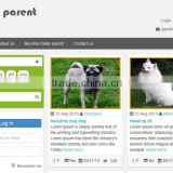 dog clothes ecommerce website design & shopping online websites