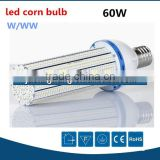 Promotional high power smd3528 60w led street light corn, 360degree e40 led corn bulb lamp 60watts