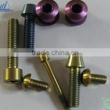 titanium bicycle screw titanium plate and screw