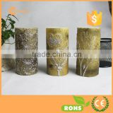 Gold Romantic LED Candles Stunning Decor Divine LED Candle Suitable For Weddings Christmas Souvenirs