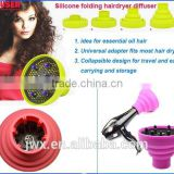 Customize your own curly hair care product silicone diffuser