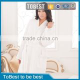 ToBest Hotel supplies Wholesale 100% Cotton High-quality Waffle Embroidered Luxury Hotel Bathrobe