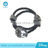 wholesale high quality casual wear charm Silver Plating stainless gold handemade fancy wrist bracelet with belt