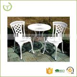 3 Piece Bistro Set Outdoor Furniture multiple color available cast aluminum used patio furniture