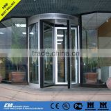 Chile Trusal S.A., manual revolving door, security glass, aluminium frame, ISO9001 UL CE certificate