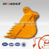 High quality excavator bucket construction machinery parts for excavator attachment bucket R230 R290