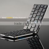 Long disctance remote control foldable mini bluetooth wireless keyboard