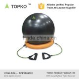 TOPKO Anti Burst Exercise Balance Exercise Ball with Base 50 cm with hand pump Yoga Gym Ball