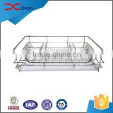 High quality durable stainless steel kitchen dish drying rack                                                                                                         Supplier's Choice