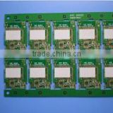 V-CUT laminated flex-rigid double-sided printed board rigid multilayer printed board pcb