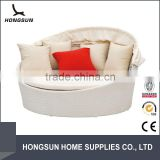 Rattan bedroom furniture set multi-purpose sofa bed