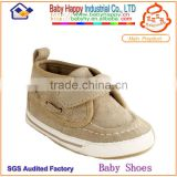 china brown canvas factory wholesale direct sport baby shoes 2014