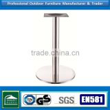 chrome legs stainless table frame metal desks