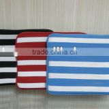 "Laptop Sleeve/ stripes computer sleeves/etbook Laptop Sleeve Case Bag Pouch Cover For 13"" inch 13.3"" Macbook Pro / Air"