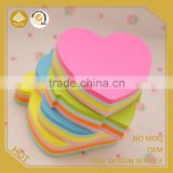 office stationery items names sticky pad/flower shaped hand shaped sticky notes