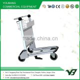 Hot sell 3 wheels aluminum alloy airport trolley with auto hand brake (YB-AT01)