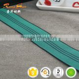 Elastic webbing for sofa made by good quality malaysia rubber thread knitted with PP and PE yam