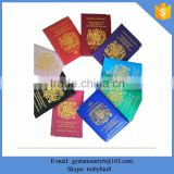 Chinese supplier produce PU Leather Passport/leather passport wallet/genuine leather passport holder
