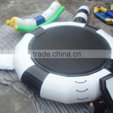 2015 hot summer inflatable sea trampoline