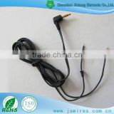 DC2.5 stereo audio cable for laptop/headset/music player cable to open                                                                         Quality Choice