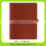 16048 Professional handmade pu Waterproof a4 leather document holder