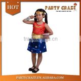 Cute wonder woman costume kids