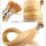20/22 Inch Blonde SO .CAP Quality Keratin I/Stick Tip Human Remy Hair Extensions