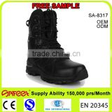 Guangzhou factory alpine shoes and asphalt boots and safety boot cover for tactical boots (SA-8317)